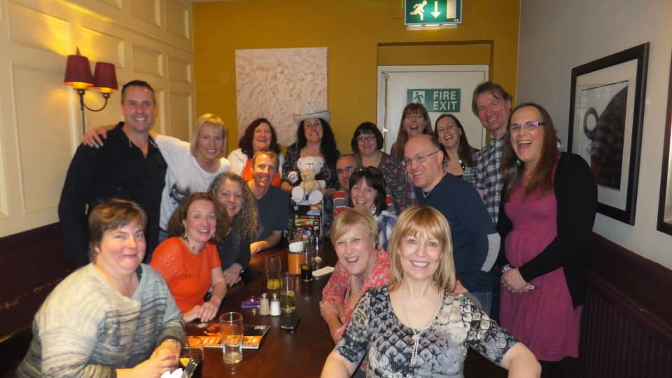 A great send off by a fabulous bunch of people