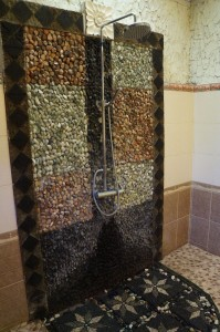 Take a look at our fabulous shower!