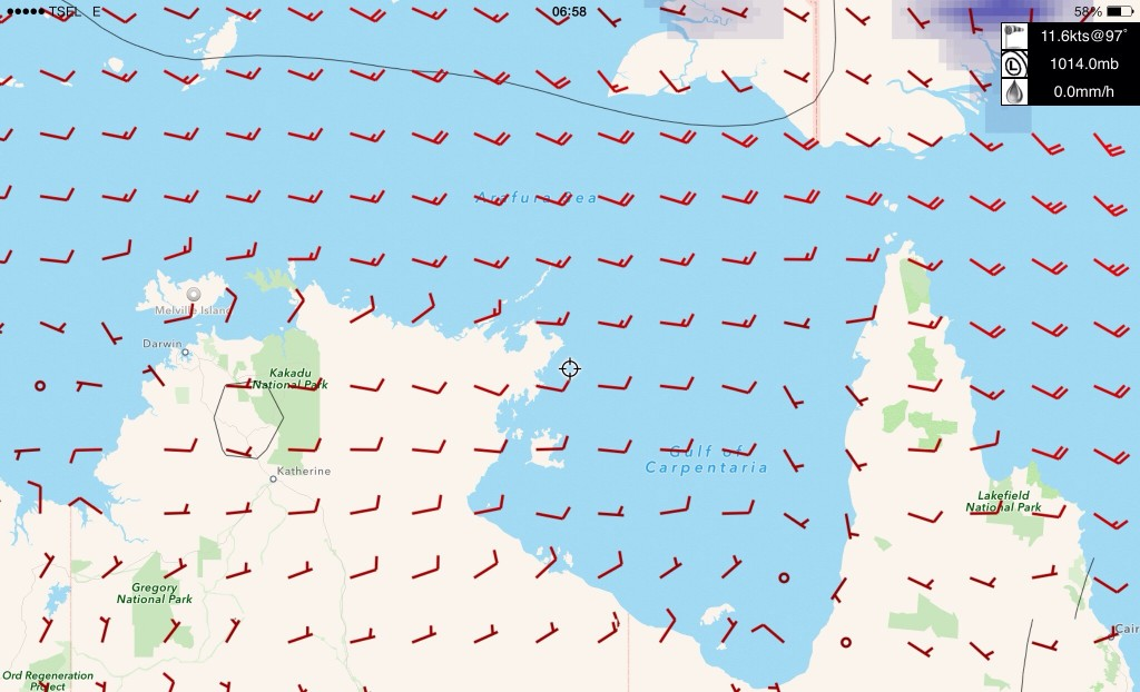 With the wind straight at us, its going to be a challenging sail!